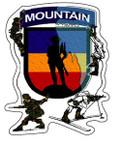 STICKER US ARMY UNIT Mountain Warfare School