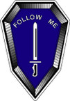 STICKER US ARMY UNIT Infantry School II