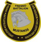 STICKER US ARMY UNIT Fresno Recruiting Battalion