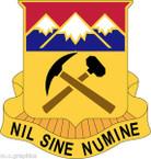 STICKER US ARMY UNIT Colorado Army National Guard