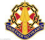 STICKER US ARMY UNIT ARNG - VIRGINIA