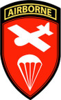 STICKER US ARMY UNIT Airborne Command Tab