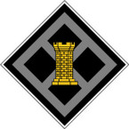 STICKER US ARMY UNIT 926th Engineer Brigade