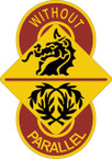 STICKER US ARMY UNIT 8th Transportation Brigade SHIELD