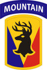 STICKER US ARMY UNIT 86th Infantry Brigade Combat Team SHIELD