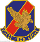 STICKER US ARMY UNIT 82D Aviation Regiment