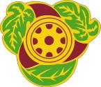 STICKER US ARMY UNIT 818th Transportation Battalion CREST