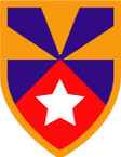 STICKER US ARMY UNIT 7th Support Brigade SHIELD