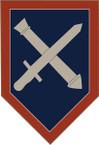 STICKER US ARMY UNIT 75th Regimental Combat Team SHIELD