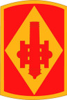 STICKER US ARMY UNIT 75th Field Artillery Brigade SHIELD
