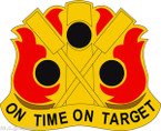 STICKER US ARMY UNIT 72nd Field Artillery Brigade