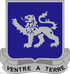 STICKER US ARMY UNIT 68th Armor Regiment