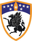 STICKER US ARMY UNIT 63th Aviation Brigade