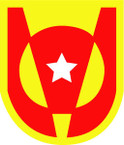 STICKER US ARMY UNIT 5th Transportation Brigade SHIELD