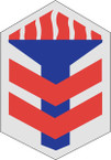 STICKER US ARMY UNIT 5th Armored Brigade SHIELD
