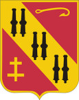 STICKER US ARMY UNIT 5TH AIR DEFENSE ARTILLERY REGIMENT