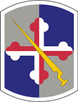 STICKER US ARMY UNIT 58th Infantry Brigade