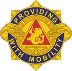 STICKER US ARMY UNIT 57th Transportation Battalion