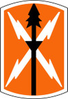 STICKER US ARMY UNIT 516th Signal Brigade SHIELD