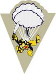 STICKER US ARMY UNIT 515th Parachute Infantry Regiment SHIELD