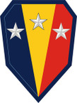 STICKER US ARMY UNIT 50th Infatry Brigade Combat Team SHIELD