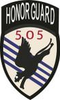 STICKER US ARMY UNIT 505th Parachute Infantry Regiment SHIELD