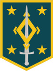 STICKER US ARMY UNIT 4th Maneuver Enhancement Brigades SHIELD