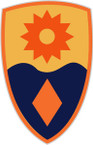 STICKER US ARMY UNIT 49th Infantry Brigade SHIELD