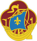 STICKER US ARMY UNIT 499 Transportation Battalion CREST