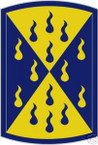 STICKER US ARMY UNIT 464th Chemical Brigade