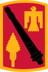 STICKER US ARMY UNIT 45th Field Artillery Brigade SHIELD