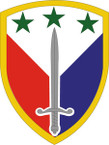 STICKER US ARMY UNIT 402nd Support Brigade SHIELD