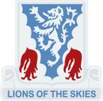 STICKER US ARMY UNIT 401st Glider Infantry Regiment CREST