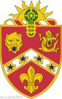 STICKER US ARMY UNIT 3rd Field Artillery Regiment