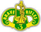 STICKER US ARMY UNIT 3rd Armor Cavalry 1