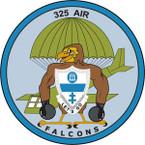 STICKER US ARMY UNIT 325th Glider Infantry Regiment SHIELD