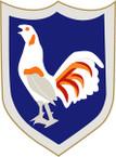STICKER US ARMY UNIT 296th Regimental Combat Team SHIELD