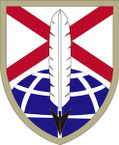 STICKER US ARMY UNIT 279th Support Brigade SHIELD