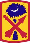 STICKER US ARMY UNIT 263rd Air Defense Artillery Brigade SHIELD