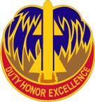 STICKER US ARMY UNIT 263RD AIR DEFENSE ARTILLERY BRIGADE