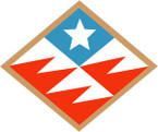 STICKER US ARMY UNIT 261st Signal Brigade SHIELD