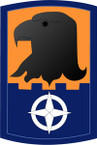 STICKER US ARMY UNIT 244th Aviation Brigade SHIELD