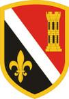 STICKER US ARMY UNIT 225th Engineer Brigade SHIELD