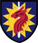 STICKER US ARMY UNIT 224th Sustainment Brigade SHIELD