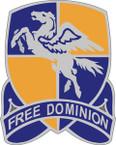 STICKER US ARMY UNIT 224th Aviation Regiment CREST
