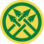 STICKER US ARMY UNIT 220th Military Police Brigade Shield
