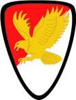 STICKER US ARMY UNIT 21st Cavalry Brigade SHIELD