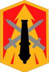 STICKER US ARMY UNIT 214th Field Artillery Brigade SHIELD