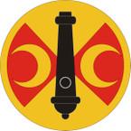 STICKER US ARMY UNIT 210th Fires Brigade Shield