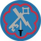 STICKER US ARMY UNIT 207th Military Intelligence Brigade SHIELD